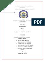Dinamica de La Estructura de Costos en Las Actividades Sectoriales