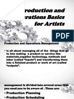 Group 3-Production and Operations Basics for Artists
