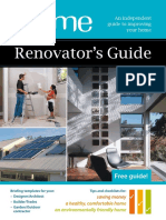 Your Home Renovators Guide