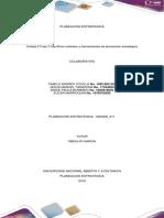 Unidad 2 Fase 3 Identificar Métodos y Herramientas de Planeación Estratégica Trabajo Colaborativo