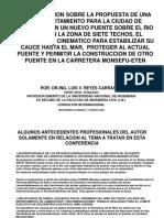 Actualizacion via de Evitamiento Para La Ciudad de Chiclayo Con Nuevo Puente Sobre El Rio Reque