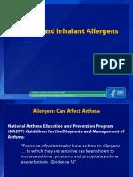 Asthma Inhalant Allergens Webinar