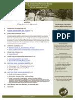 PRAB Agenda September 2019