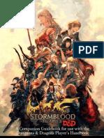 D&D 5e FFXIV Character Classes