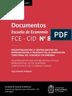 Documentos Escuela de Economía
