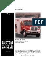 Manual de Partes International 4300 (DuraStar) Motor DT466E