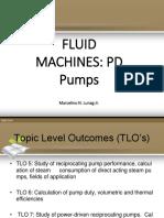 Fluid Machinery PDP