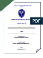 Derecho Internacional Publico, Tema D 2