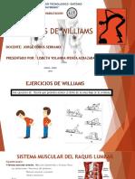 Ejercicios de Williams Diapositivas