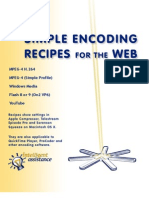 Encoding Recipes