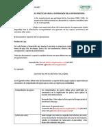 1-Recomendaciones Para La Auditoria CM4 y CM6