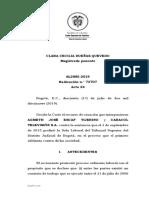 Contrato Realidad - Prescripcion - Caso Agmet Scaff Vrs Caracol - 2019