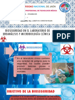 Bioseguridad en el laboratorio de uroanálisis