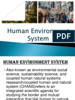 Human Environment System