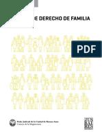 Seda, Juan - Manual de Derecho de Familia - 2018