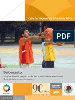 Baloncesto Guía Del Docente