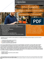 Tributos en Cápsulas - Déficit acumulado y algunos efectos comerciales, mercantiles y tributarios.pdf