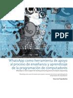 Dialnet WhatsAppComoHerramientaDeApoyoAlProcesoDeEnsenanza 6702430 (1)
