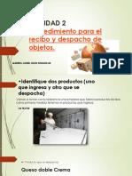 Actividad 2 Informe Procedimiento de Recibo y Despacho