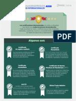 certificaciones internacionales