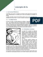 Unidad 1. Historia y concepto de la psicología