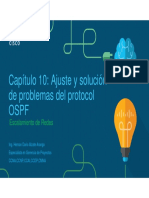 Cap 10 Ajuste y Solucion de Problemas Del Protocolo OSPF (v6.0)