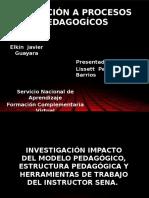 Inducción a Procesos Pedagogícos 2