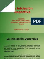 La Iniciación Deportiva NIVEL II