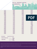 DAJ- Bus Schedule