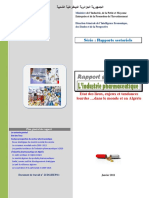 Rapport Sectoriel - Industrie Pharmaceutique - PDF