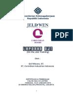 Laporan OJT EdiW - Revisi