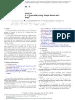 ASTM C78 - Flexural Strength of Concrete
