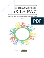 VOCES DE MAESTROS POR LA PAZ - Centro de Pensamiento Pedagógico de Antioquia - 2017 LIBRO.pdf