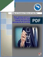 Certificación variables lucro cesante