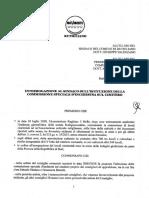 Interrogazione Commissione d'inchiesta Cimitero
