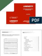 Manual aquecedor LZ800fb