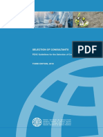 Selection of Consultants Guide_2019