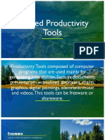 Applied Productivity Tools