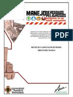 Herramienta para clasificación de RESPEL_2012.pdf