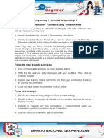 Evidence Blog Presentations (1)