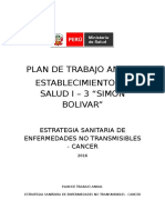 Plan de Trabajo Anual CANCER Final