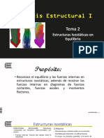 Tema 2 Estructuras Isostáticas