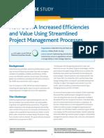 Dewa Increase Efficiencies Value