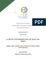 GUIA MODULO 40026 18A La Proteccion Internacional Del Medio Ambiente