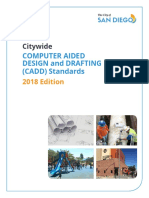 City Computer Aided Design and Drafting Cadd Standards 2018 Edition
