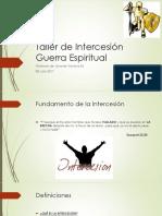 taller de intersecion