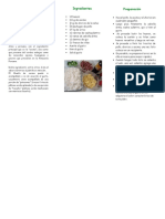 Triptico Gastronomia- Chaufa de Cecina