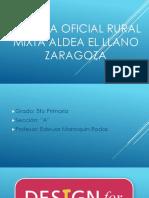 Escuela Oficial Rural Mixta Aldea El Llano Zaragoza