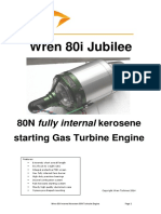 Wren 80i Gas Turbine Engine Tech Specs