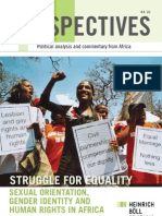 Struggle for equality